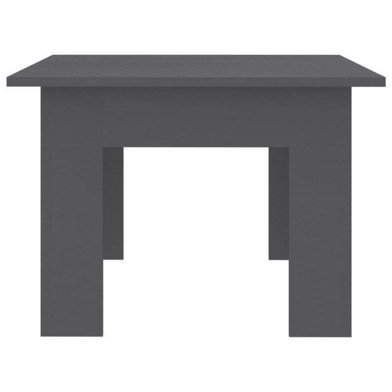 Stolik kawowy, szary, 100x60x42cm, płyta wiórowa