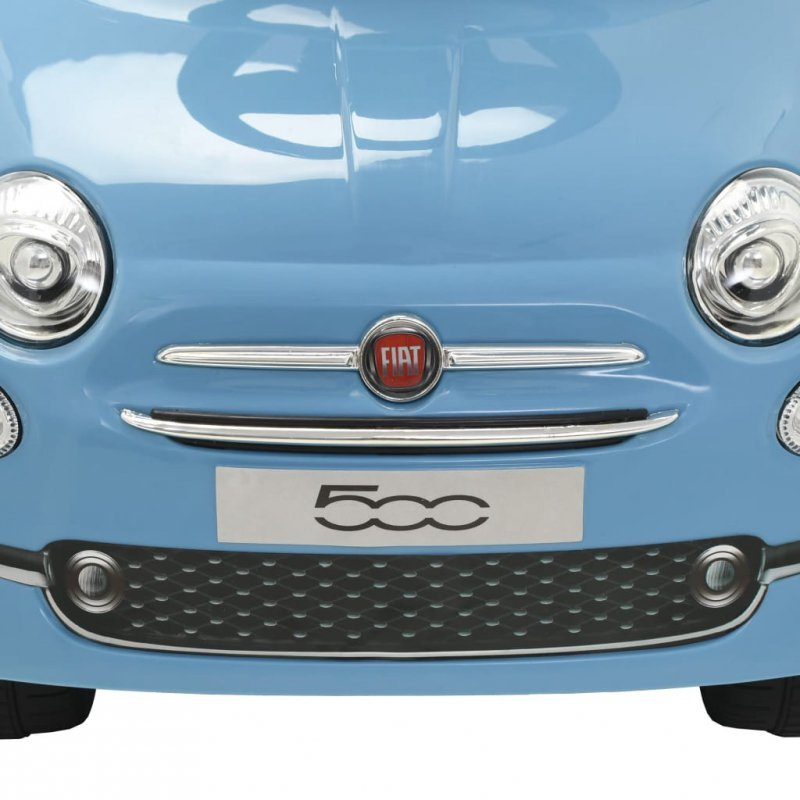 Samochód jeździk Fiat 500, niebieski