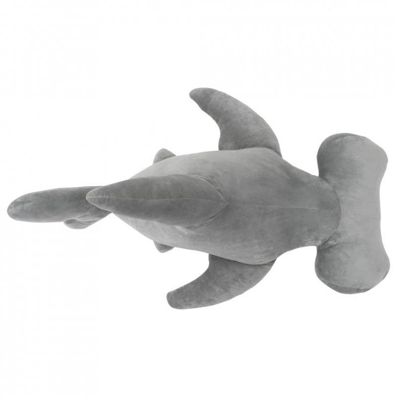 Pluszowy rekin młot przytulanka, szary