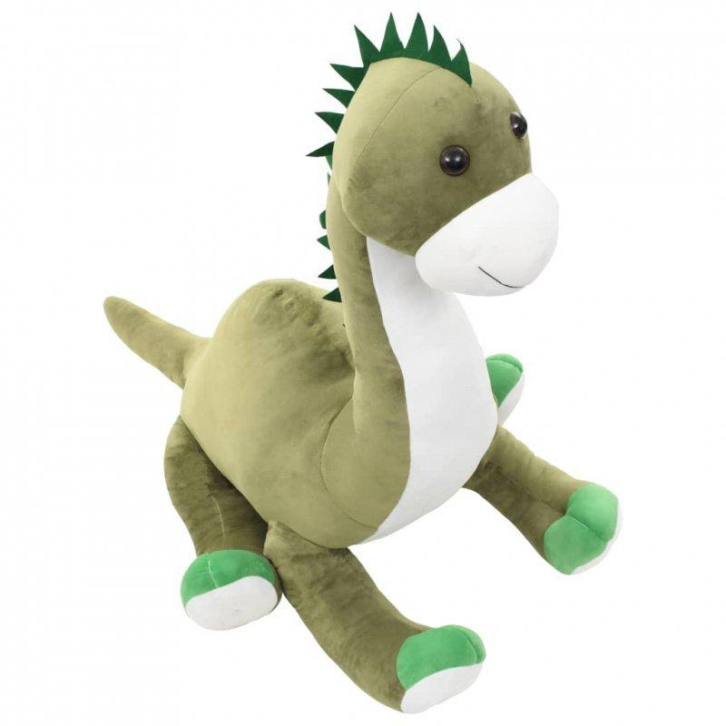 Pluszowy brontozaur przytulanka, zielony