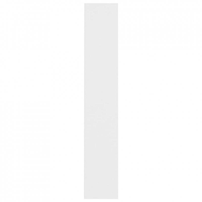 Szafki na płyty CD, 2 szt., białe, 21x16x93,5 cm, płyta wiórowa