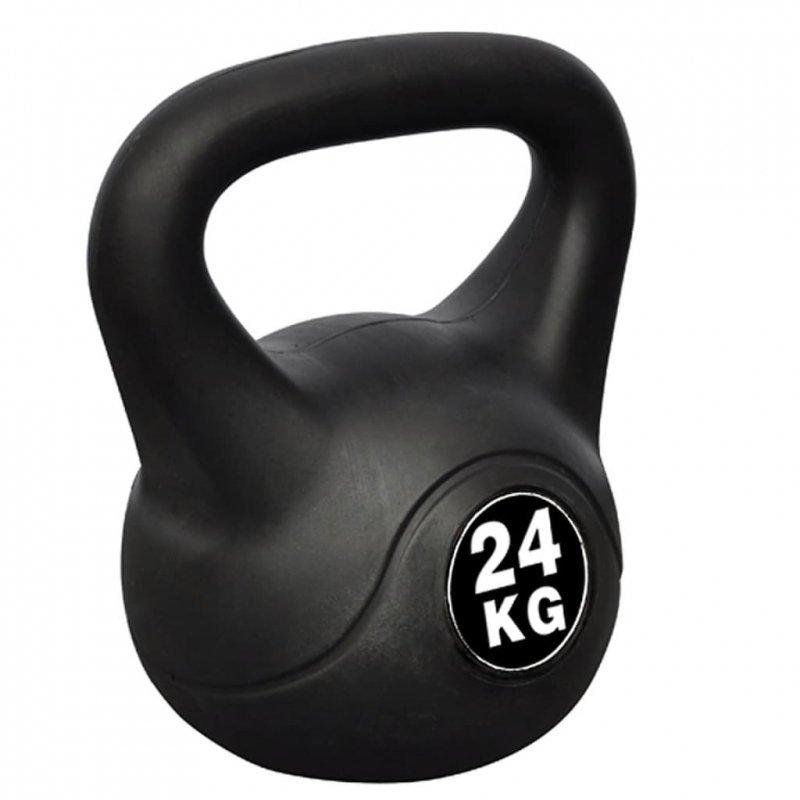 Odważnik gimnastyczny o wadze 24 kg.