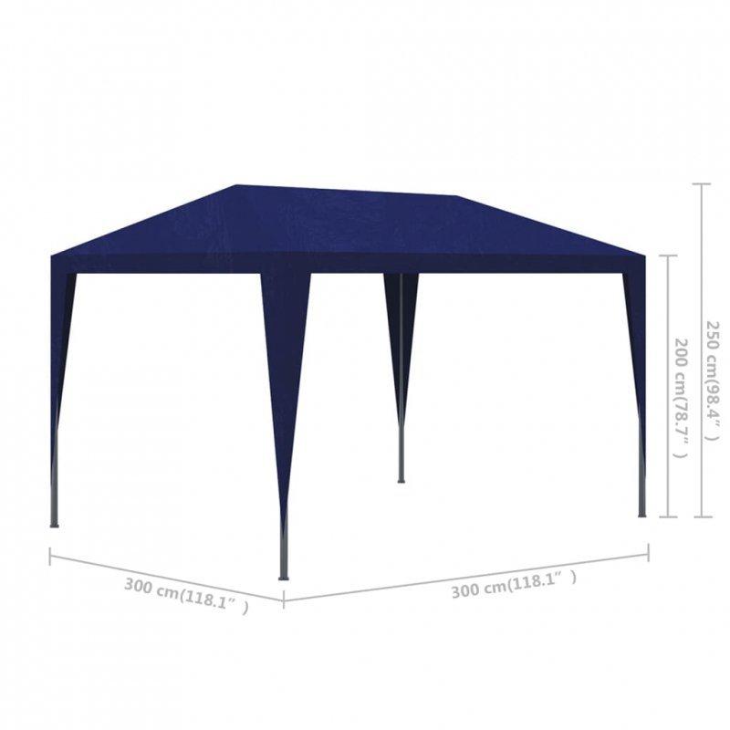 Namiot ogrodowy, imprezowy 3x3, niebieski