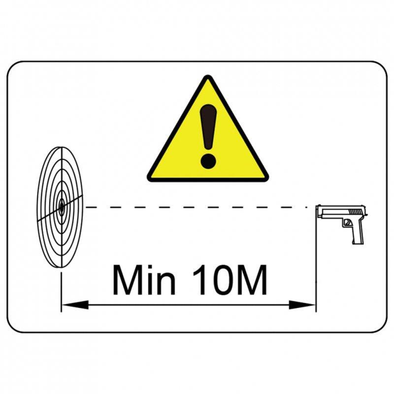 Magnetyczne cele strzelnicze z kulochwytem, 4+1, wzór z dzikami