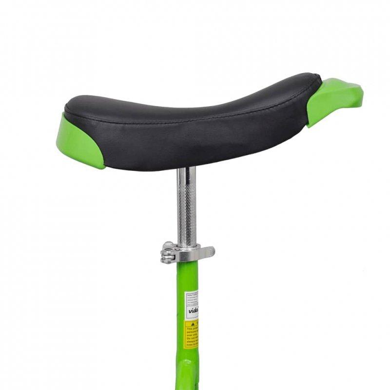 Zielony unicykl, 16 cali