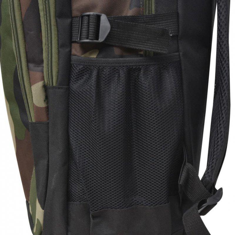Plecak szkolny 40 L ,czarny i moro