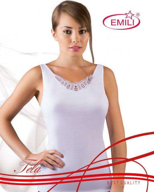 Koszulka Emili Tela biała 2XL-3XL