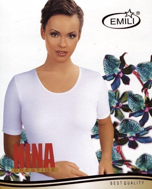 Koszulka Emili Nina czarna, beżowa S-XL