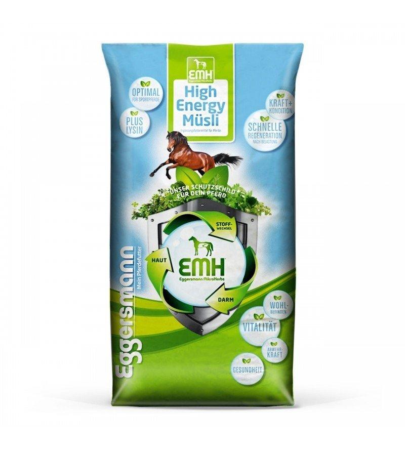EMH High Energy Musli- wysokoenergetyczne musli dla koni sportowych 20 kg  Eggersmann