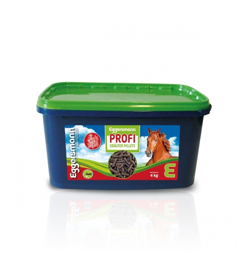 Profi Kräuter Pellets - ziołowy suplement dla koni z RAO/COPD 4 kg  Eggersmann