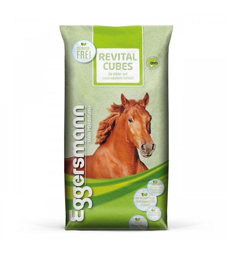 ReVital Cubes- dla koni ochwatowych, z chorobą Cushinga i PSSM 25 kg  Eggersmann
