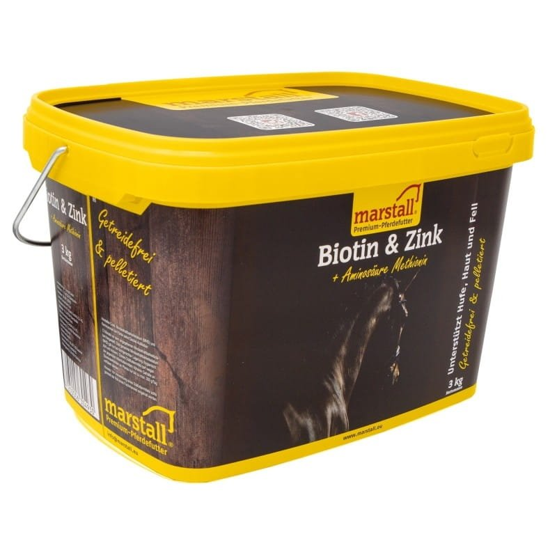 BIOTIN & ZINK 3kg Marstall