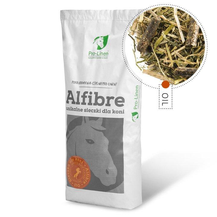 ALFIBRE OIL 15kg  (sieczka dla koni) Pro-linen