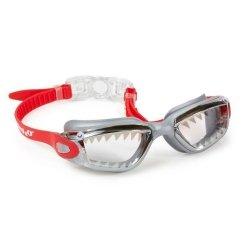 Okulary do pływania, Szczęki Rekina, czerwone, 6+