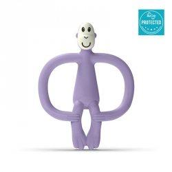 Monkey Lavender Purple Gryzak Masujący ze szczoteczką