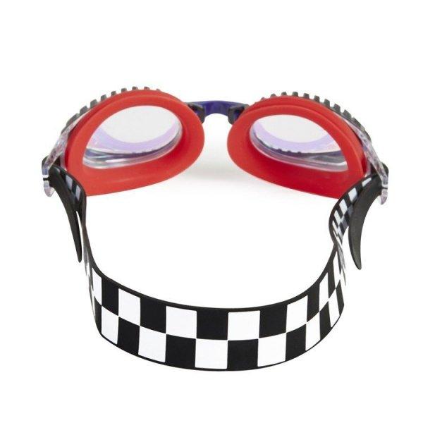Okulary do pływania, Wyścigi, Czerwone, 3+