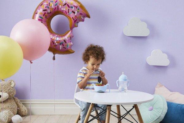 Pierwsze sztućce dla niemowląt, Gelato Boysenberry, 9m+