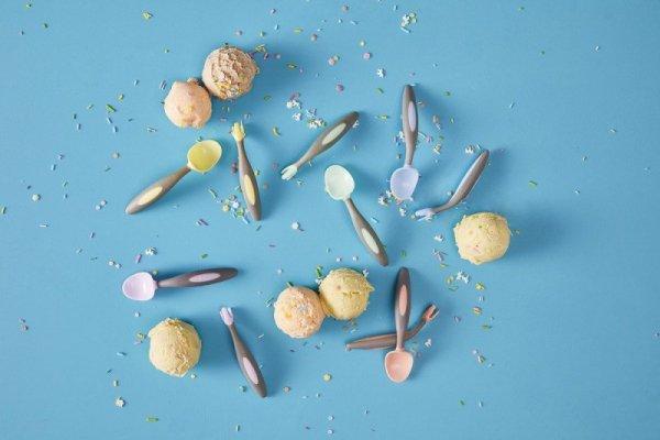 Pierwsze sztućce dla niemowląt, Gelato Bubblegum, 9m+
