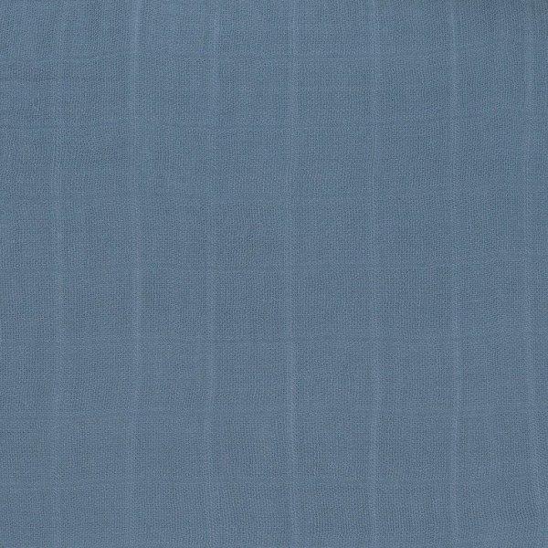 Bambusowy Otulacz-Kocyk 80x80cm Zestaw 3 szt. Glama Lama blue