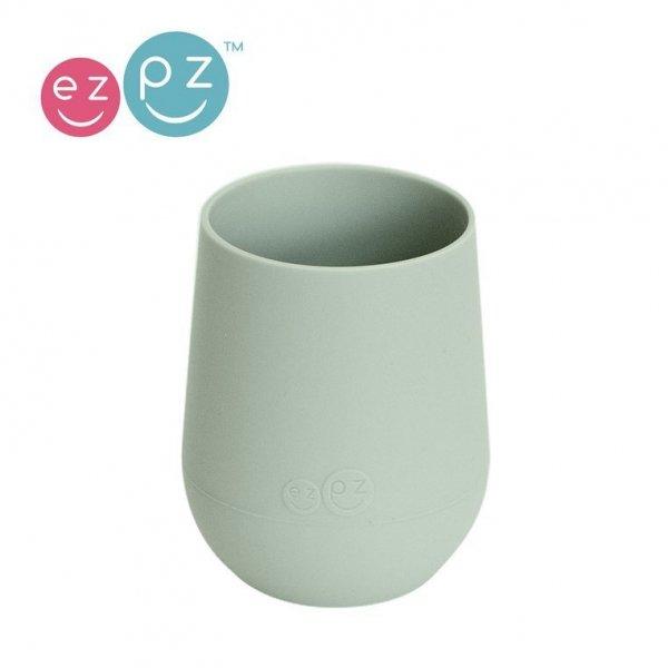 Silikonowy kubeczek Mini Cup 120 ml pastelowa zieleń