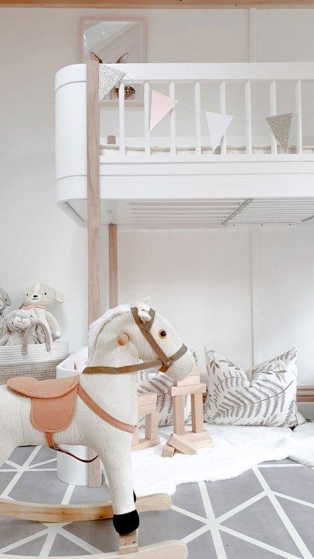 Mata do zabawy piankowa podłogowa Prettier Playmat Nordic Pebble Grey