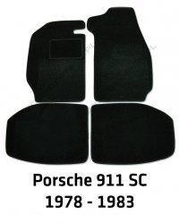 Dywaniki welurowe Porsche 911