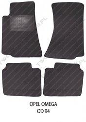 Dywaniki welurowe Opel Omega