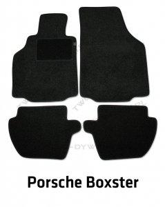 Dywaniki welurowe Porsche Boxster