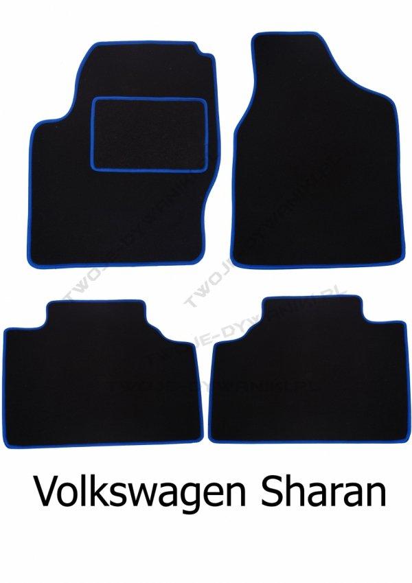 Dywaniki welurowe Volkswagen Sharan