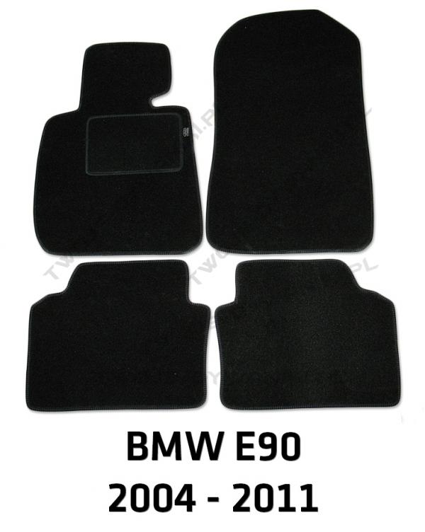 Dywaniki welurowe BMW e90/e91/e92/e93 3 Series