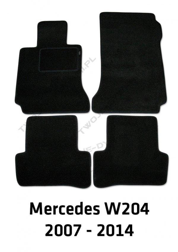 Dywaniki welurowe Mercedes W204 C-Klasa