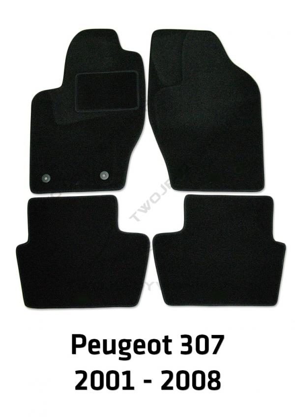 Dywaniki welurowe Peugeot 307/307 CC