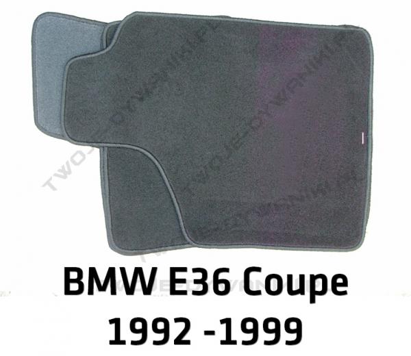 Dywaniki welurowe BMW e36 3 Series