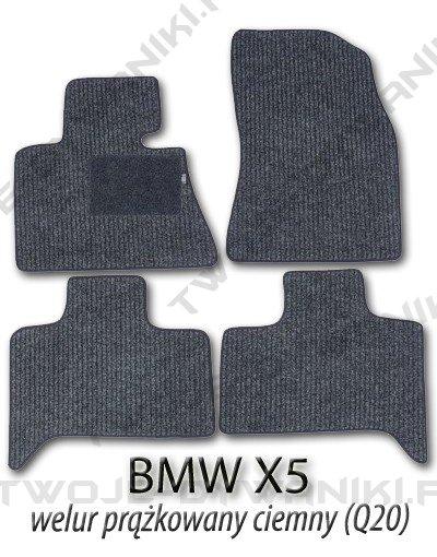 Dywaniki welurowe BMW X5 E53