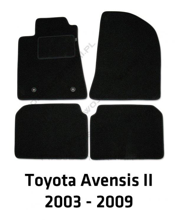 Dywaniki welurowe Toyota Avensis