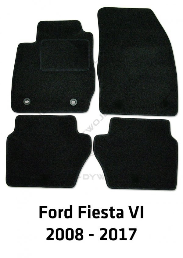 Dywaniki welurowe Ford Fiesta