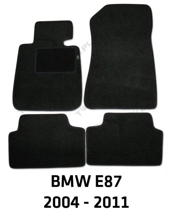 Dywaniki welurowe BMW e87 1 Series