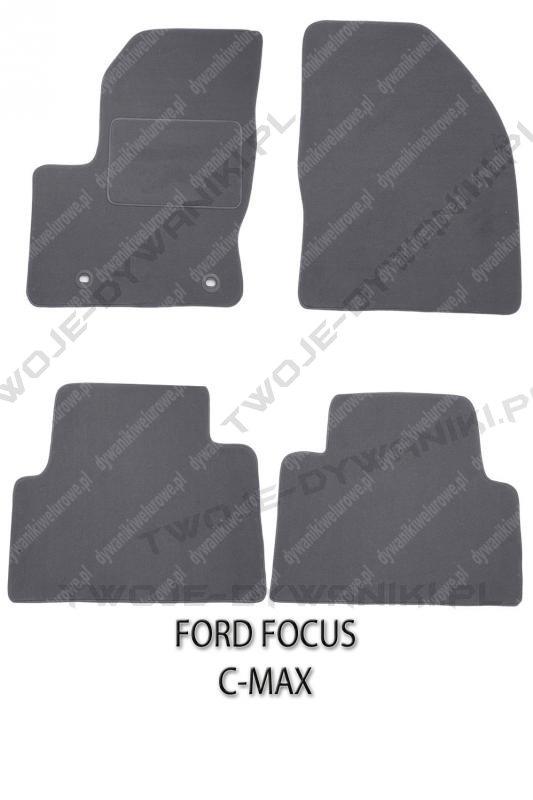 Dywaniki welurowe Ford Focus C-MAX