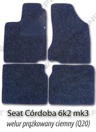 Dywaniki welurowe Seat Cordoba