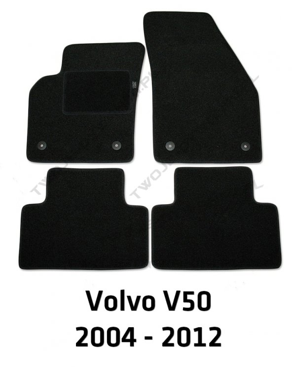 Dywaniki welurowe Volvo V50