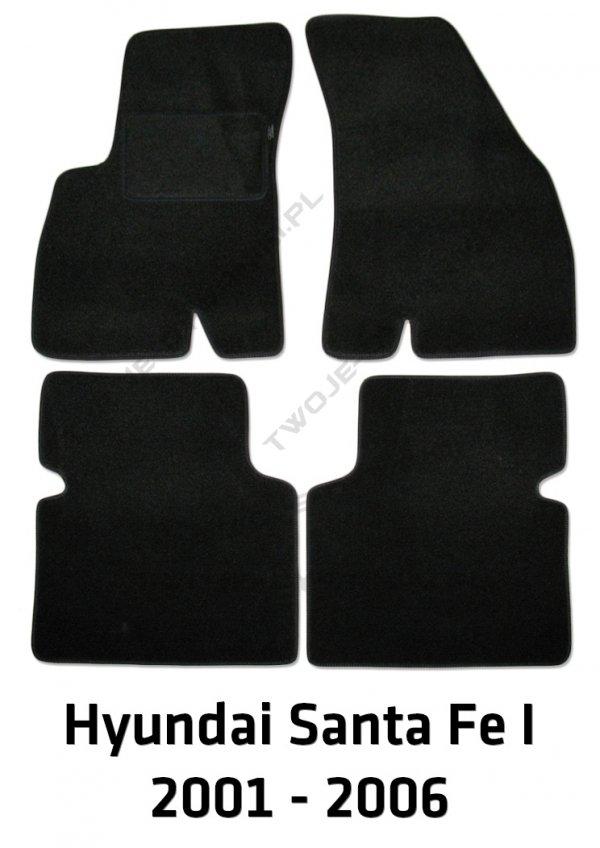 Dywaniki welurowe Hyundai Santa Fe