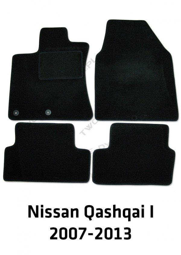 Dywaniki welurowe Nissan Qashqai