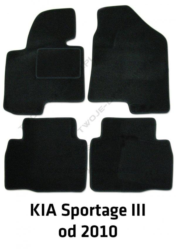 Dywaniki welurowe Kia Sportage