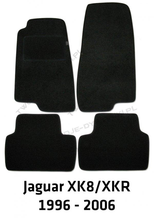 Dywaniki welurowe Jaguar XK 8/XKR