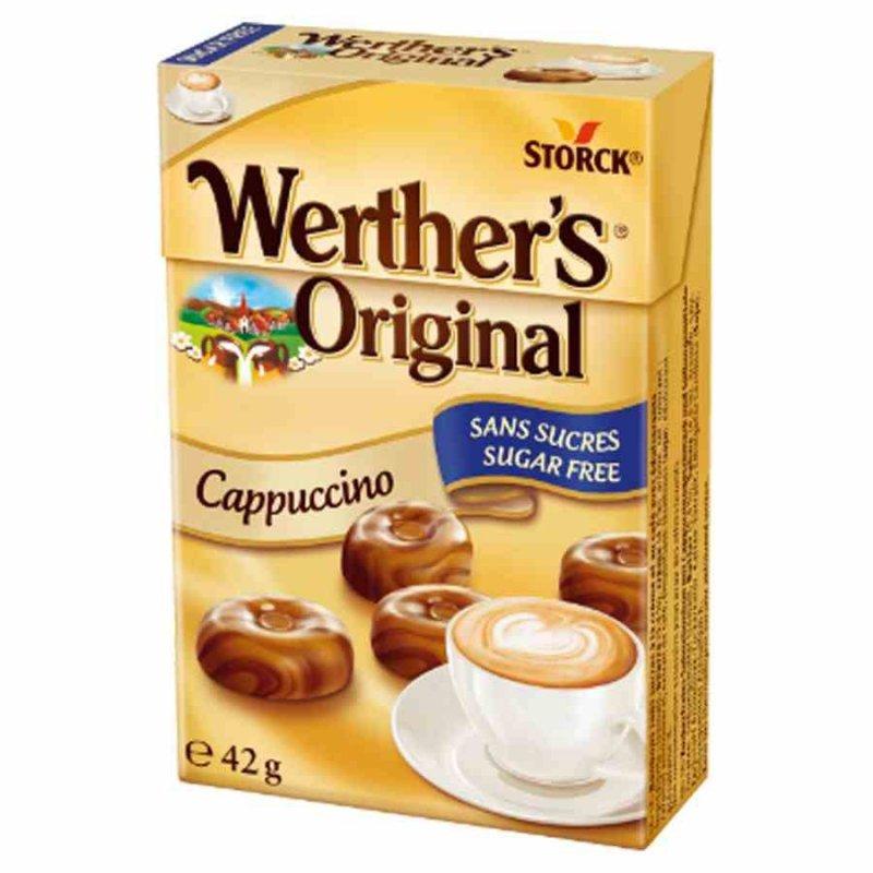 Karmelki o smaku cappucino bez cukru Werther's Original, 42g