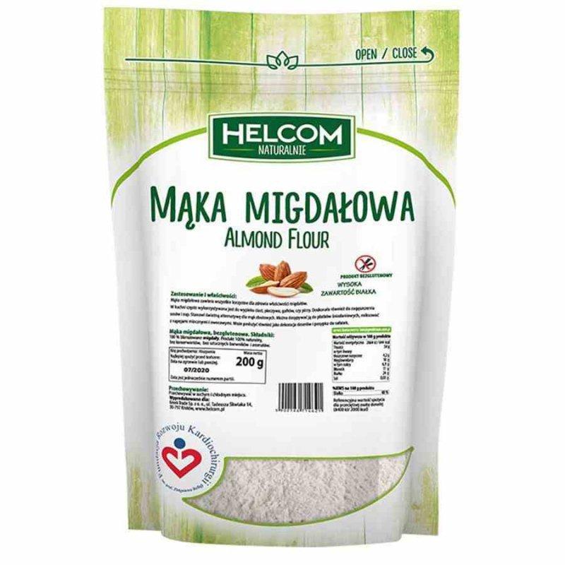 Mąka migdałowa Helcom, 250g