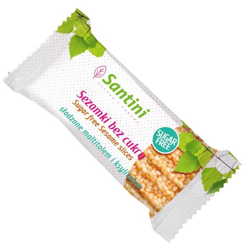 Sezamki bez cukru Santini, 27g