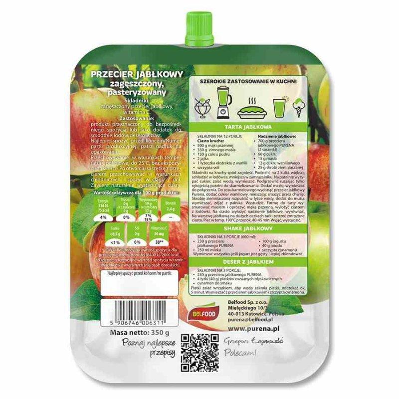 Przecier jabłkowy 100% Purena, 350g