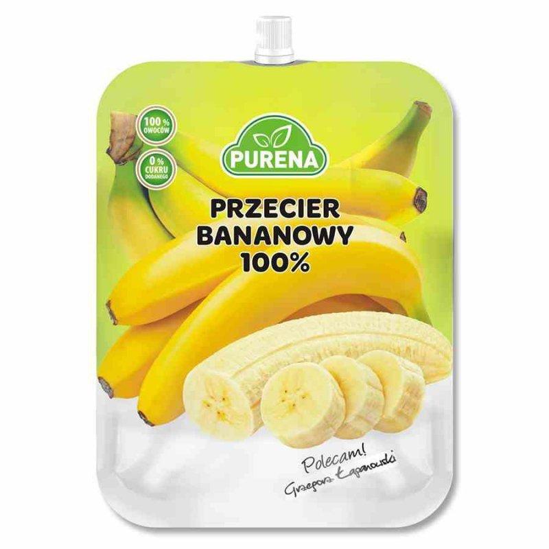 Przecier bananowy 100% Purena, 350g