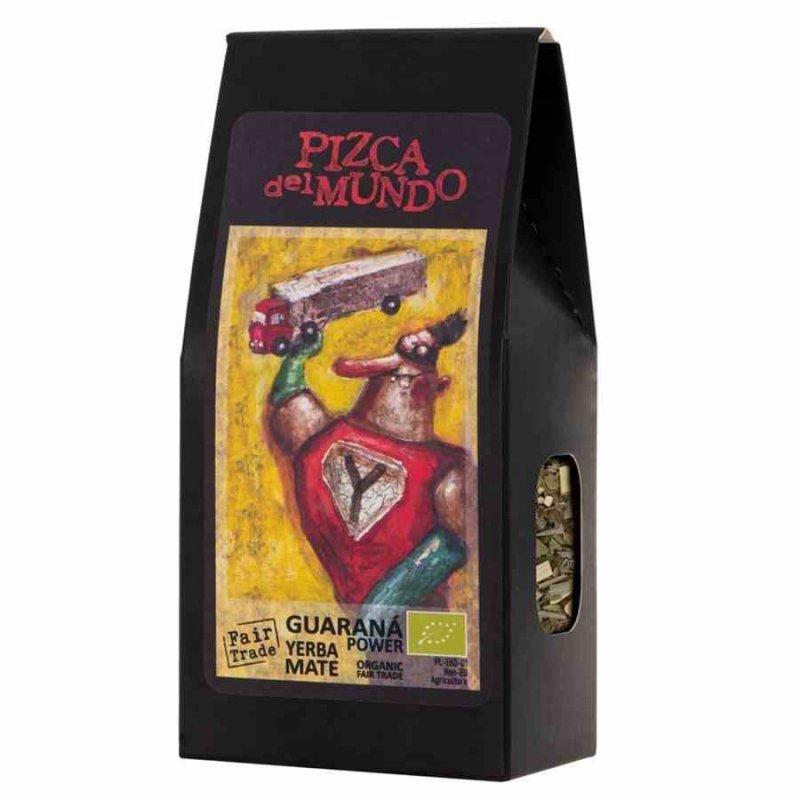 Guarana power – yerba mate z guaraną Pizca del Mundo BIO, 100g